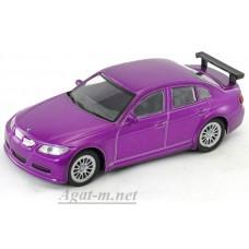 Масштабная модель BMW 320SI WTCC, фиолетовый