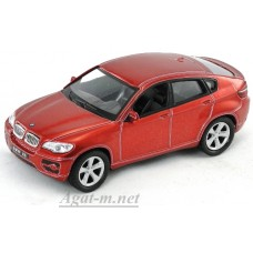 Масштабная модель BMW X6, красный