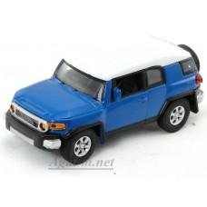 Масштабная модель TOYOTA FJ CRUISER, синий