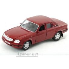 Масштабная модель Горький-31105, бордовый