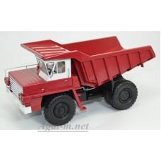 10234-ДМБ Карьерный самосвал БЕЛАЗ-540 выставочный, красный/белый