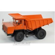 10236-ДМБ Карьерный самосвал БЕЛАЗ-540А (решетка с 5 поперечинами), оранжевый
