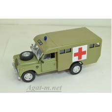 81-251-КАР Land Rover II series 109 VAN Ambulange 1961 г., бежевый