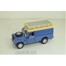 Land Rover III series 109 VAN 1961г., синий