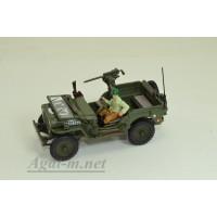 94-90141-КАР JEEP Willys CJ-5 1/4 ton US Army With Gun