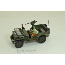 94-90141-КАР JEEP Willys CJ-5 1/4 ton US Army With Gun