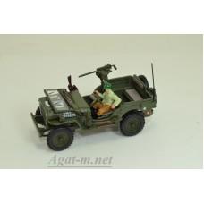 JEEP Willys CJ-5 1/4 ton US Army With Gun