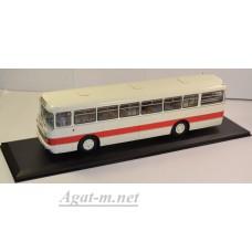 04013A-КЛБ Икарус-556 Автобус бело-красный (с номерами и указателями)