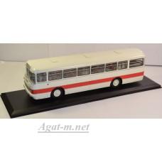 04013-КЛБ Икарус-556 Автобус бело-красный