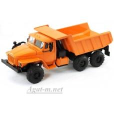 УРАЛ 55571 самосвал, оранжевый