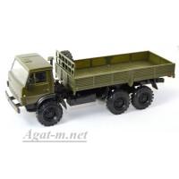 2055-ЭЛ Камский 43105 грузовик бортовой, хаки