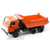 2080-ЭЛ Камский 55111 самосвал (ребра горизонтальные), оранжевый