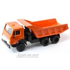 2081-ЭЛ Камский 5511 самосвал, оранжевый