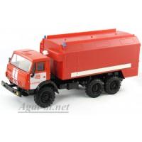 2204-ЭЛ Камский 4310 пожарный, красный