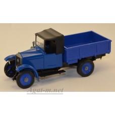 2300-2-ЭЛ АМО-Ф15 бортовой, синий
