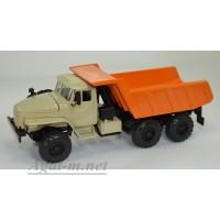 2006-3-ЭЛ УРАЛ-55571 самосвал, песочный/оранжевый