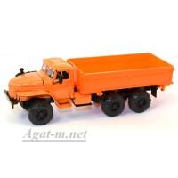 2007-1-ЭЛ УРАЛ 55571 самосвал сельхозник, оранжевый