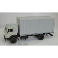 2063-1-ЭЛ Камский-5325 контейнеровоз, серый/серый