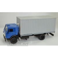 2063-2-ЭЛ Камский-5325 контейнеровоз,синий/серый