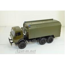 2206-ЭЛ Камский-4310 пожарный, зеленый