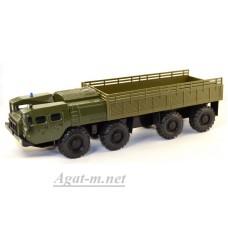 2072-ЭЛ МАЗ-7310 бортовой, зеленый