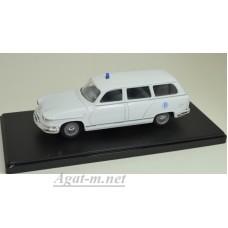 101637-ELG PANHARD PL17 Break Ambulance 1959 White