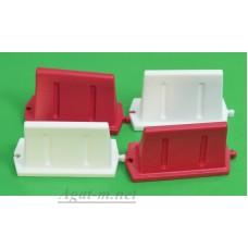016-4-ГСТ Дорожный пластиковый водоналивной барьер (31Х19Х12мм.) набор 4шт.