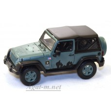 86043-GRL JEEP Wrangler 4х4 U.S.Army Limited Edition (с тентом) 2012 Dark Green