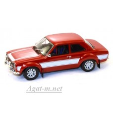 86066-GRL FORD Escort RS 2000 1974 Red with White Stripes