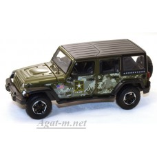 86068-GRL JEEP Wrangler 4x4 Unlimited U.S.Army Edition 5-дв. (Hard Top) 2014 Dark Green