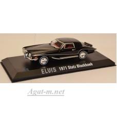 86503-GRL STUTZ Blackhawk Elvis Presley 1971 Black