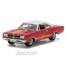 37120C-GRL PLYMOUTH GTX 1968 Red/White