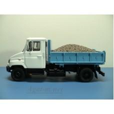 21-ЧМГ Груз-вставка гравий для самосвала ЗиЛ-ММЗ-2502 (Легендарные грузовики №32)