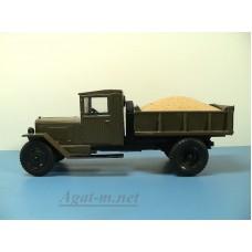 24-ЧМГ Груз-вставка песок (желтая тема) для самосвала ЗиС-ММЗ-05 (Легендарные грузовики №43)