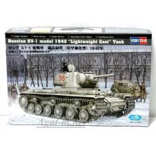 84814-ХОБ Танк Russia KV-1 model 1942