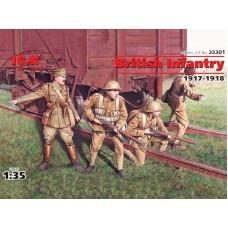 35301-ICM Британская пехота 1917-1918г.