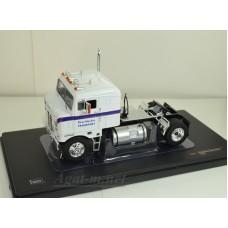 "063TR-IX Седельный тягач KENWORTH Bullnose ""Ross Mackie Transport"" 1950 White/Blue"