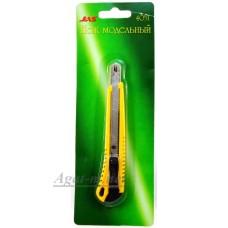 4051-ДЖЗ Нож выдвижной с боксом д/хранения запасных лезвий, автоматическая фиксация лезвия