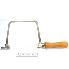 4084-ДЖЗ Лобзик, 140 мм, глубина 150 мм, деревянная ручка