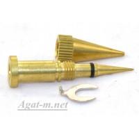 5282-ДЖЗ Сопло форсунка для аэрографа, диаметр 0,8 мм