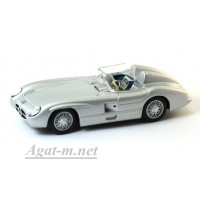 21-LMB MERCEDES-BENZ 300 SL/R Roadster 1955 г. серебристый