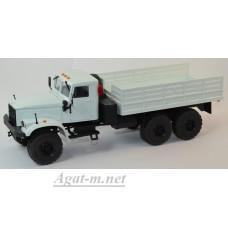 31001-КРЗ КрАЗ-255 бортовой, белый