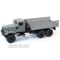 31005-КРЗ КрАЗ-255 бортовой, серый