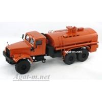 32007-КРЗ КрАЗ-255 автоцистерна, оранжевый