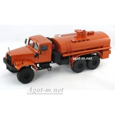 КрАЗ-255 автоцистерна, оранжевый