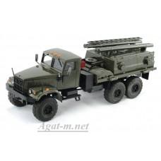КрАЗ-255 ВМТТ, хаки