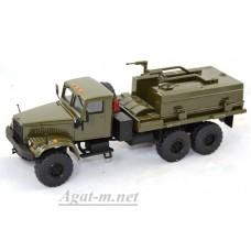 КрАЗ-255 ВМТТ-4, хаки