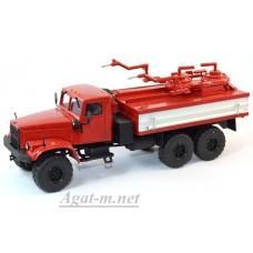 КрАЗ-255 химическая дезактивация транспорта ХДТ-1, красный