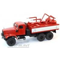 32016-КРЗ КрАЗ-255 химическая дезактивация транспорта ХДТ-3, красный