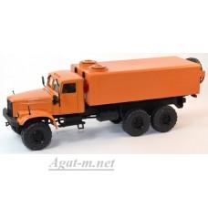 КрАЗ-255 аварийный водопроводный, оранжевый